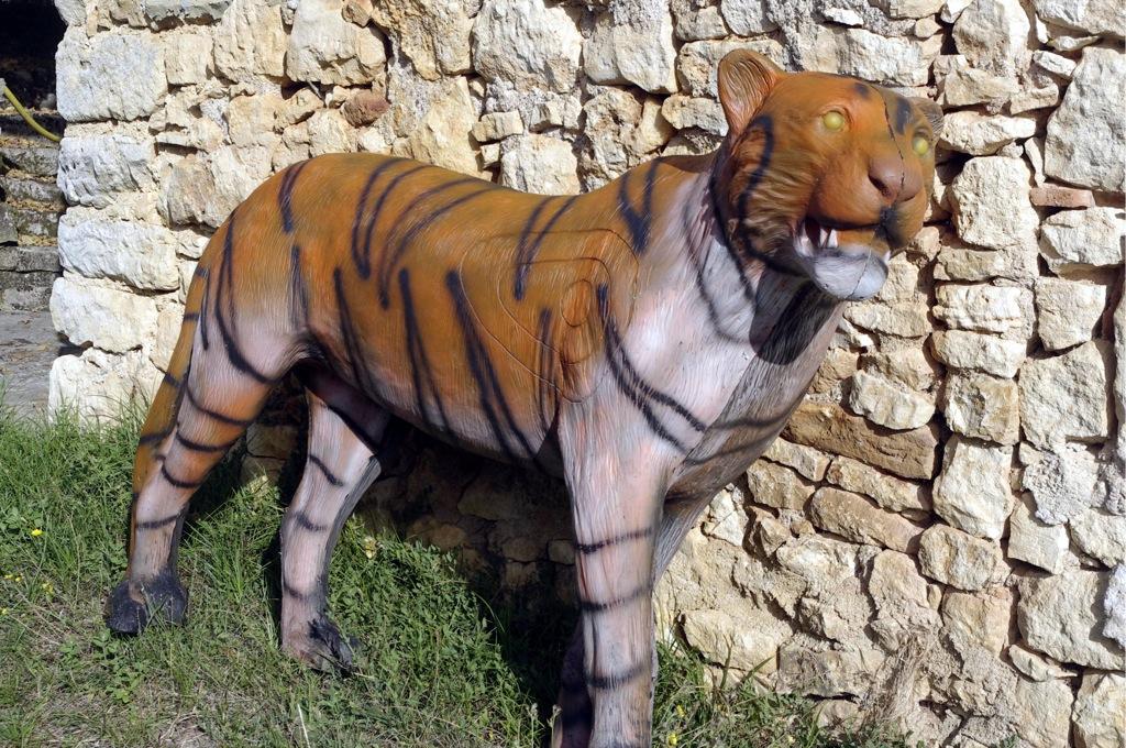 Tigre en mousse 3D